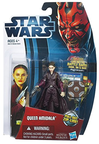 Hasbro Queen Amidala with Pull-Out Zip Line MH17 Movie Heroes - Star Wars
