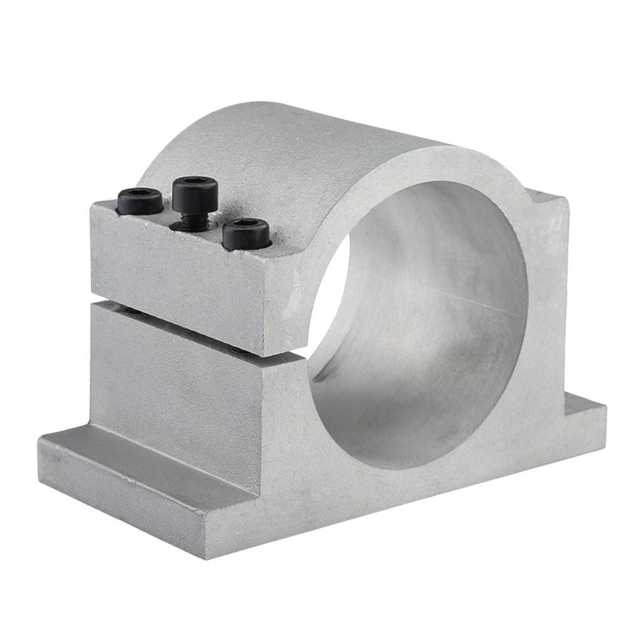 相互苦い粗いAlmencla CNCスピンドルクランプ 彫刻機 スピンドルモーターマウント ブラケット - 65mm