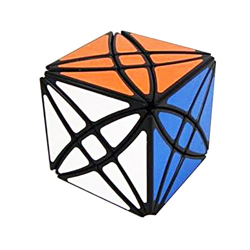 Wings of Wind - Irregular Magic Cube de Magic Star Cube Negro (Rex Cube)
