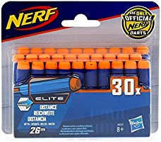 Hasbro A0351 Nerf N-Strike Elite Påfyllningspaket, Flerfärgad, 30 st