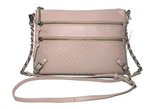 ELLIOTT LUCCA Leather Fawn Pink Messina Handbag 107298
