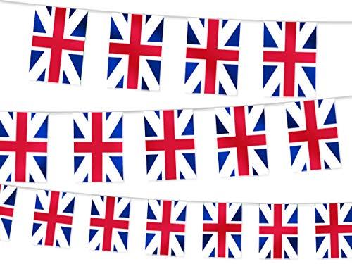 Slinger met gors vlaggen van Australië 14ft (4.5m) decoratieve decoratie voor Aussie Fans Voetbal Rugby Sport Evenementen Festoon Banner Wimpel Gadget voor Australische Party binnen en buiten