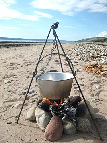 arrowsmith forge Cooking Camping Tripod, dutch oven bush craft iron fire canoe Scouts