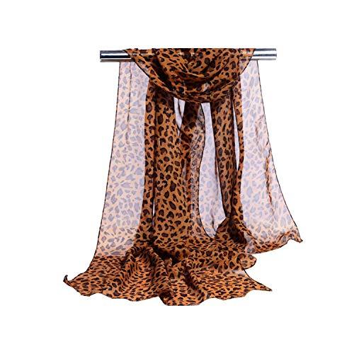 Lady Leopard Print Scarf Women Summer Long Scarves Femme Wrap Beach Sunscreen Cheaper Scarf,5