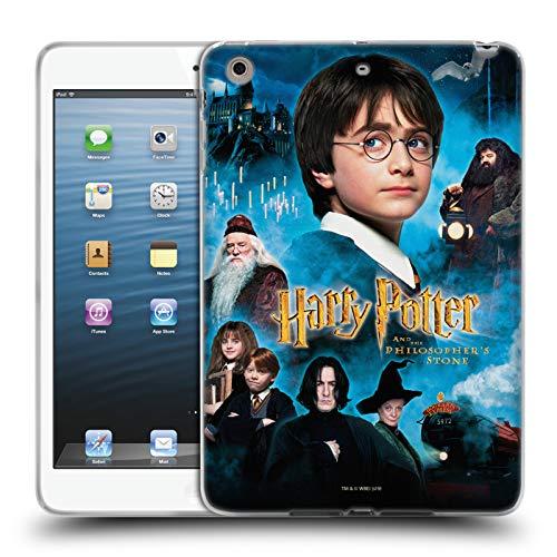 Head Case Designs Oficial Harry Potter Poster 2 Sorcerer's Stone II Carcasa de Gel de Silicona Compatible con Apple iPad Mini 1 / Mini 2 / Mini 3