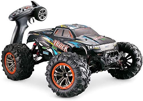 Hosim RC Off-Road Auto Maßstab 1:10 RC Buggy Auto High Speed RC Truggy Monster Truck Modell 9125 (Blau)