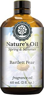 Bartlett Pear Fragrance Oil (60ml) For Diffusers, Soap Making, Candles, Lotion, Home Scents, Linen Spray, Bath Bombs, Slime