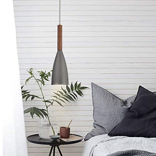 Vintage hanglamp eettafel lamp metaal en hout lamp hanglamp industrie licht eetkamer antiek E27 decoratieve lamp voor kantoor lamp hout 220 – 240 V