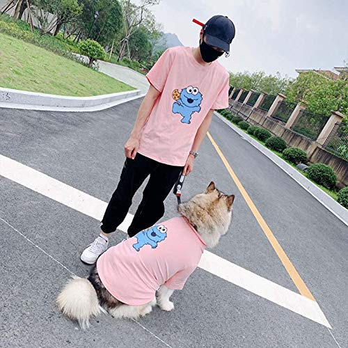 Hundekleidung Haustier Jacke Cartoon Hundekleidung Sommer Haustiere Hunde Kleidung Für Kleine Mittelgroße Hunde Kostüm Soft Dog T-Shirt Labrador Haustier Kleidung 3Xlforpet Pi