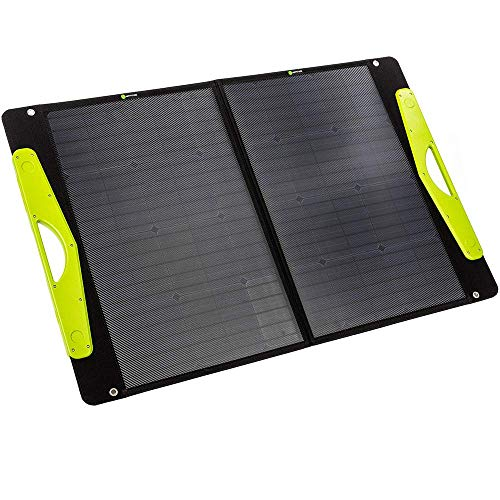 WATTSTUNDE SolarBuddy 100W Solarkoffer - Hardcover Solartasche WS100SB - faltbares Solarmodul direkt mit USB Anschluss am Modul (100W)
