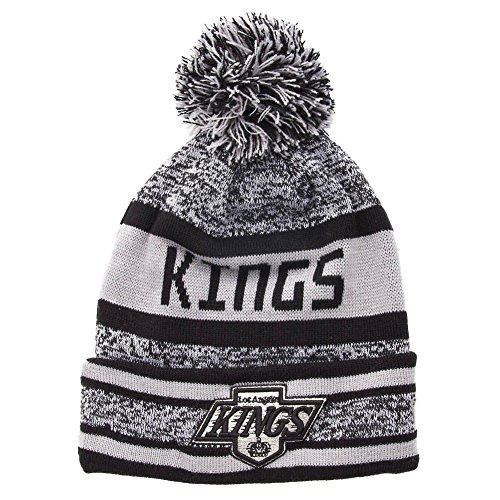 Los Angeles Kings – New Era Bonnet – Bloc Word Top – Black/White - Noir - Taille Unique