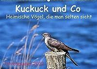 Kuckuck und Co - Heimische Voegel, die man selten sieht - Jahresplaner 2022 (Wandkalender 2022 DIN A2 quer): Heimliche Voegel ganz nah! (Geburtstagskalender, 14 Seiten )