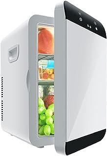 16L Mini Kylskåp, Kalllagring, Lågt ljud, Bärbar Touch Control, Lämplig för student sovsalar, Hyreshus, Mat och Fruktlager
