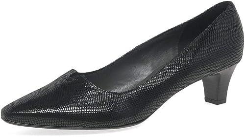 Peter Kaiser Kaiser Kaiser SELA femmes Shiny noir Reptiles Cour Pointue Chaussures 5d1
