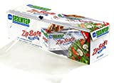 SealWrap 30510600 Zipsafe Plastic Wrap, 12' Wide by 3000' Length, PVC, Clear