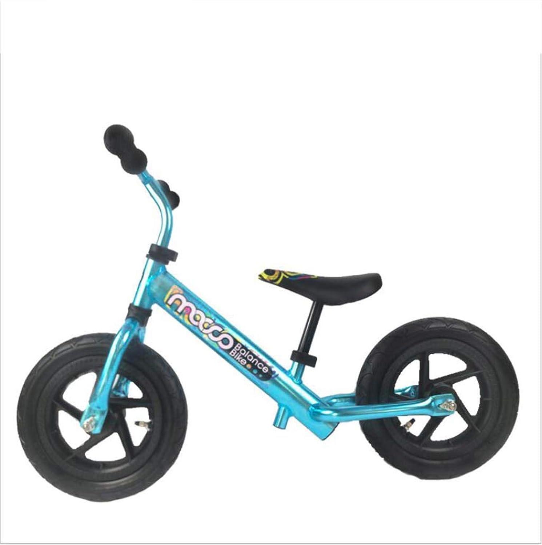 Kinder Keine Pedal Fahrrad Balance Auto Rutsche Auto Kind Spielzeug Toyocar Taxiing,Blau,12inches