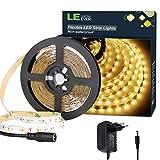 LE LED Streifen Set 12V 5m Selbstklebend, 3000 Kelvin...