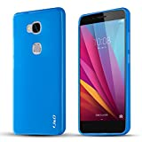J&D Slim Shock Resistant Jelly Case for HUAWEI Honor 5X - Blue