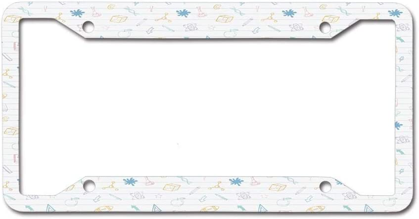 online shop HARTFORSYTH License Plate Frame Car tag Aluminum Topics on TV Pla Licence
