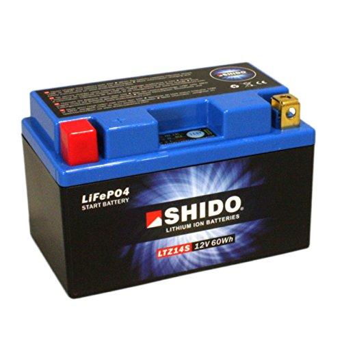 Preisvergleich Produktbild Batterie Shido Lithium LTZ14S / YTZ14S,  12V / 11, 2AH (Maße: 150x87x110) für Benelli Tre 1130 K Amazonas Baujahr 2008