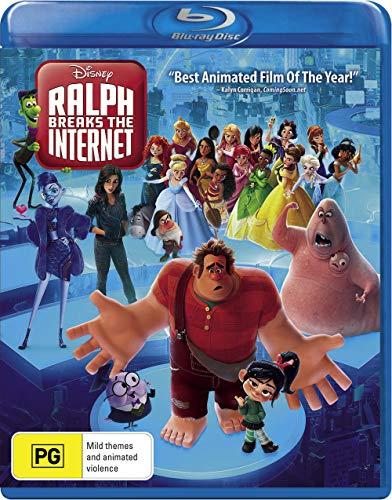 Ralph Breaks The Internet Blu-Ray | Region Free