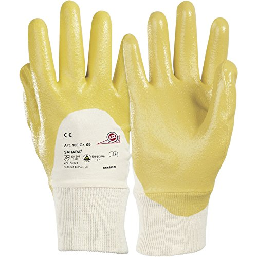 KCL Schutzhandschuh Sahara 100 Gr.9 EN388 Kategorie II Material Nitril
