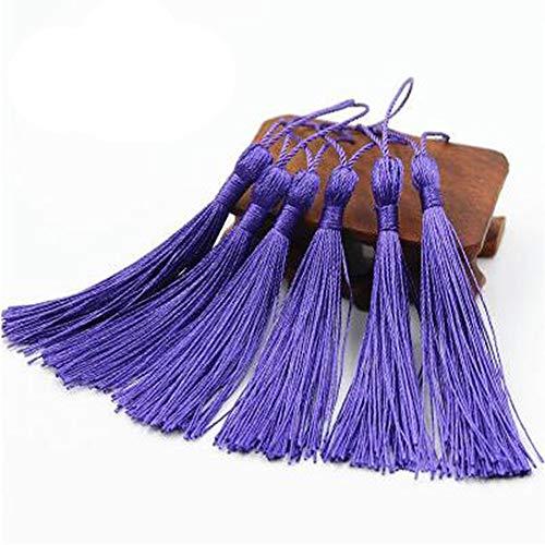 creanoso Lesezeichen Quasten violett