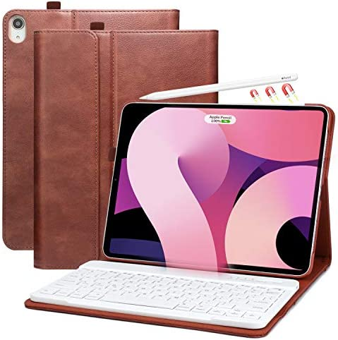 iPad Air 4th Generation Case with Keyboard 10 9 inch 2020 Pencil Holder Detachable Bluetooth product image