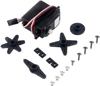 Ximimark 1Pcs DS04-NFC 360 Degree Continuous Rotation Servo DC Gear Motor for Smart Car RC Robot ECS Consistency Speed Controller