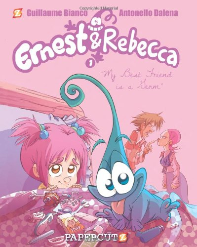 Ernest and Rebecca #1: My Best Friend is a Germ (Ernest and Rebecca Graphic Novels)