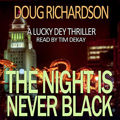 The Night Is Never Black audiobook cover art