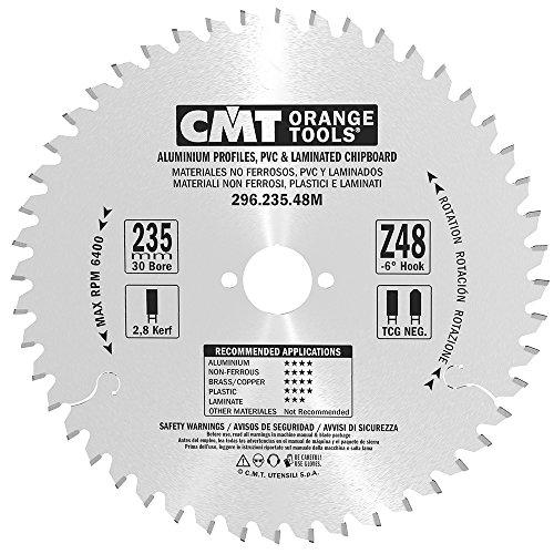 CMT Orange Tools 296,235,48 m scie circulaire 235 x 30 x 2,8 z 48°-6 tcg