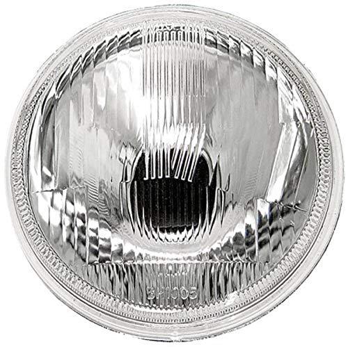 """IPCW CWC-7006 7"""" Plain Round Conversion Headlight - 1 Piece"""