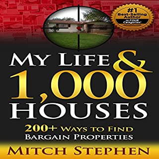 My Life & 1,000 Houses: 200+ Ways to Find Bargain Properties audiobook cover art