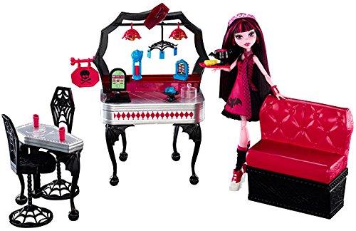 Monster High - Y7719 - Mobilier de Poupée - Draculaura Diner d'enfer