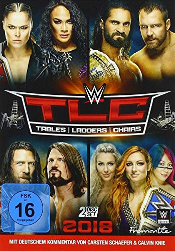WWE: TLC: Tables, Ladders & Chairs 2018 [2 DVDs]