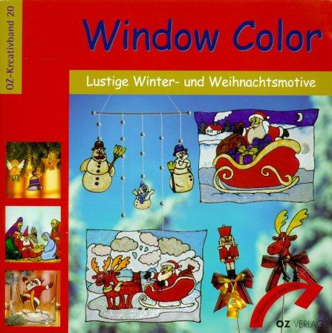 Window Color, Lustige Winter- und Weihnachtsmotive (OZ-Kreativband)