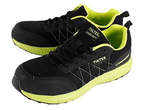 [タルテックス] アイトス AITOZ TULTEX 安全靴 AZ-51653 スニーカー ローカット 紐タイプ 010 ブラック 25cm