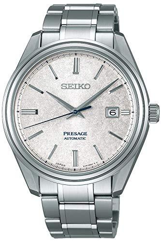 Seiko presage Reloj para Hombre Analógico de Automático con Brazalete de Acero Inoxidable SJE073J1