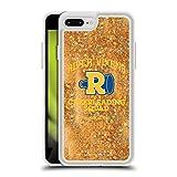 Head Case Designs Licenciado Oficialmente Riverdale Logotipo de River Vixens Arte Gráfico Caso de Purpurina Líquido Híbrido Transparente Compatible con Apple iPhone 7 Plus/iPhone 8 Plus