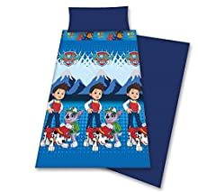 Patrulla Canina Juego de sábanas Pirineo 90, Azul, para Cama de 90x190