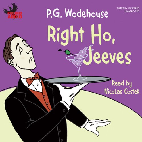 Right Ho, Jeeves  audiobook cover art
