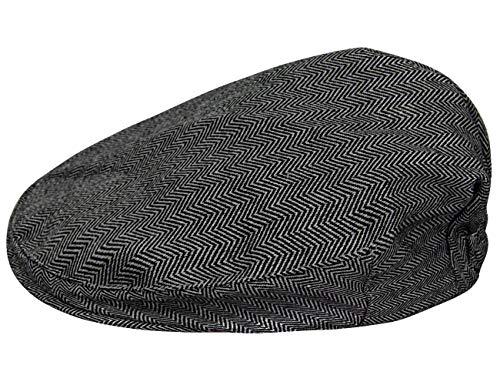 mintgreen Gorra Vintage Bebé Niño Sombrero Espina de Pescado, Negro, 3-6 Meses (Tamaño del Fabricante: 44)