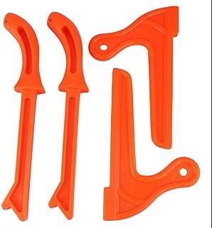 4pcs Push Sticks Kunststoff Tischkreiss?ge Zubeh?r Hands?ge Holzbearbeitung Sicherheit Push Sticks(Orange)