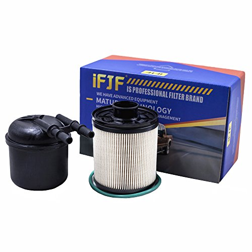 FD-4615 6.7 Powerstroke Fuel 5 Micron Fuel Water Separator Filter Replacement for Ford Truck/Pickup 2011-2016 F-250, F-350, F-450, F-550 Super Duty 6.7L V8 Diesel Engines BC3Z9N184B