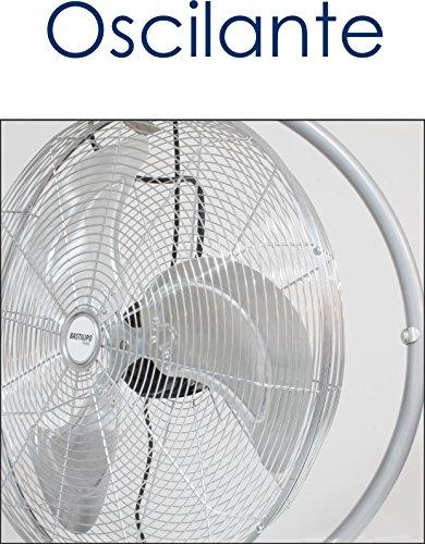 Bastilipo Mónsul Ventilador Industrial de Suelo, 140 W, Metalizado: Amazon.es: Hogar