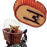 Fahrradkorb mit Schutzgitter 53 x 35 x 43 cm