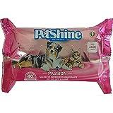 PORRINI Toallitas Higiene para Perro y Gato, Pasión, 40 uds, Perro