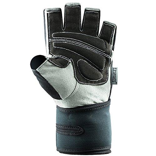 C.P. Sports Profi-Gym-Doppelbandagen-Handschuh, Fitnesshandschuh, Trainingshandschuh L - 3