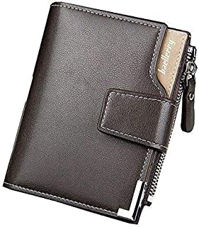 Baellerry Brown Faux Leather For Men - Smart Wallets